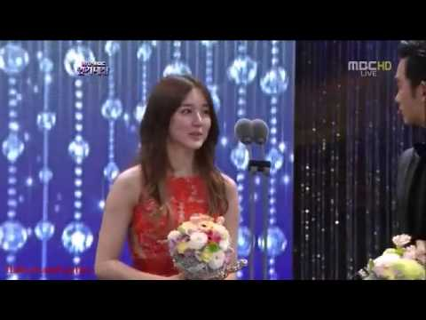 [Best Female Popularity Award] Yoon Eun Hye 윤은혜- 2012 MBC Drama Awards 연기대상  121230