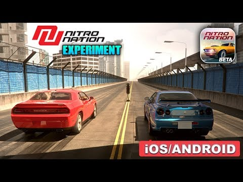 Nitro Nation Experiment - Android / iOS Gameplay