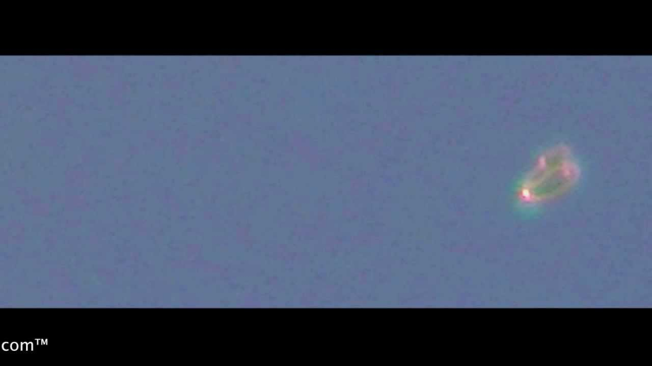 Jelly Like UFO Recorded In Mexico (October 2012) HD