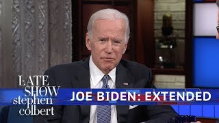 Full Extended Interview: Joe Biden Talks To Stephen Colbert