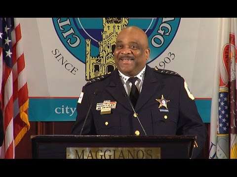 Eddie T. Johnson, Superintendent, Chicago Police Department