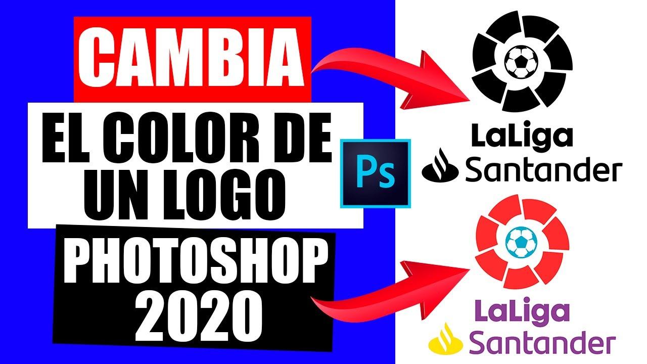 Como Cambiar El Color De Un Logo En Photoshop 2020 Youtube