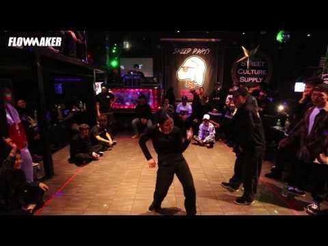 Yunji Lee vs. Takara - Quarter final @Midnight series 2017: Freestyle