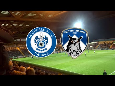 '2-0 TO THE REFEREE!' ROCHDALE VS OLDHAM ATHLETIC DERBY DAY VLOG!!