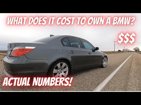 How Much Does It COST To OWN A BMW? - Actual Numbers On 3 Years of Ownership - BMW 530i E60 N52