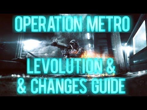 Battlefield 4 - Operation Metro Levolution & Changes Guide!
