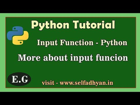 Python - Input function Explain | Input function in Depth - Python Tutorial in Hindi for class 11 thumbnail