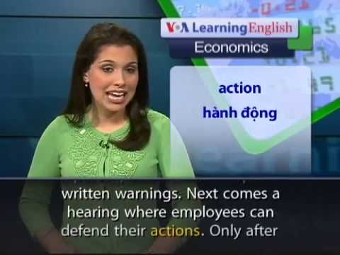 VOA Special English, South Africa Labor Laws
