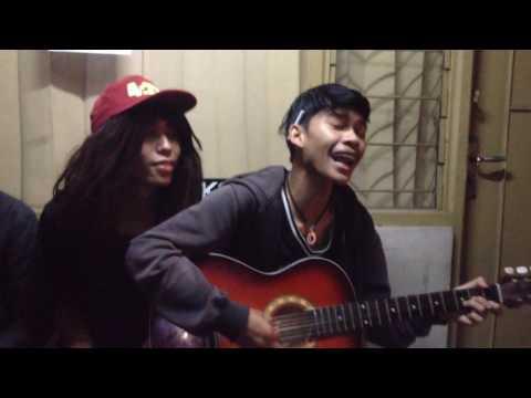 Doel sumbang - runtah (cover acung feat ricky)