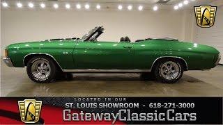 1972 Chevrolet Chevelle - Gateway Classic Cars St. Louis - #6569