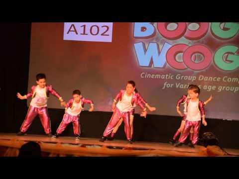 Aanya's Dance @ Boogie Woogie -2016