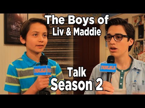 liv and maddie cast dating