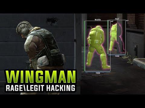 CS:GO | WINGMAN RAGE & LEGIT HACKING // HACK VS HACK IS BACK... #Wingman
