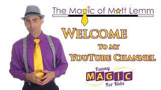 Funny Magic For Kids YouTube Trailer