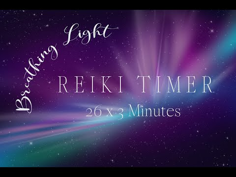Reiki 3 Minute Timer With Reiki Music And Nature Sounds ~ 26 X 3 Tibetan Bell Timers