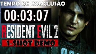 Resident Evil 2 Remake - 1-Shot Demo SPEEDRUN [3:07]