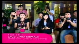 Promo Lagu Cinta Nirmala (Mutiara Hati) @ Tv9! (10-14/10/2011)
