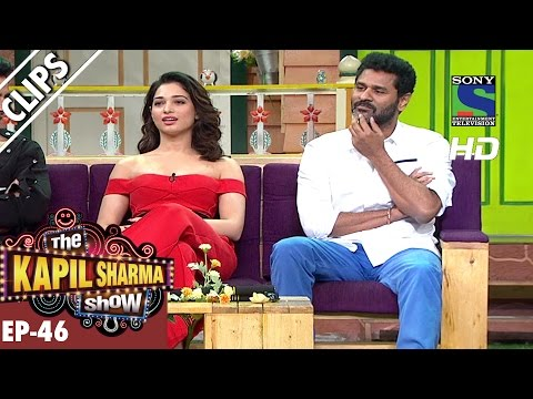 Thumbnail: Tamanna Bhatia and Prabhu Deva in the Kapil Show - The Kapil Sharma Show - Ep.46 -25th Sep 2016