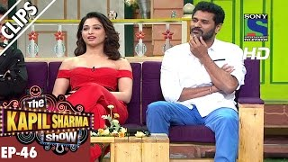Tamanna Bhatia and Prabhu Deva in the Kapil Show - The Kapil Sharma Show - Ep.46 -25th Sep 2016