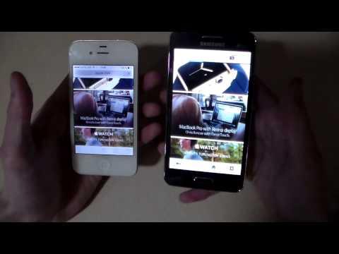 Сравнение Samsung Galaxy Core 2 vs iPhone 4S (HD)