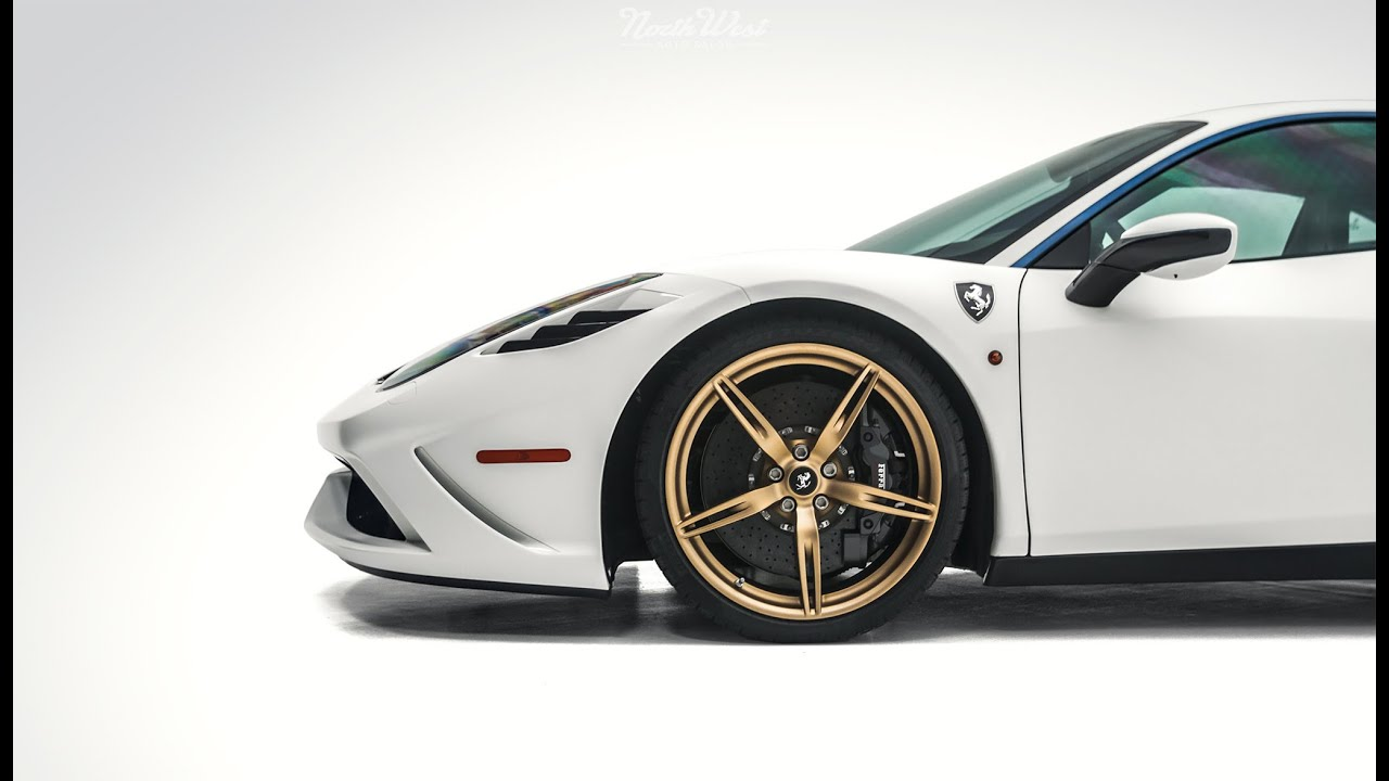 Ferrari 458 Speciale Wrapped in XPEL Stealth & Ultimate