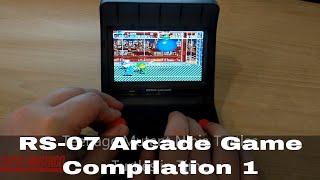 RS-07 Retro Arcade Compilation 1 - Arcade themed retro games for SNES, Genesis, Gameboy and more!