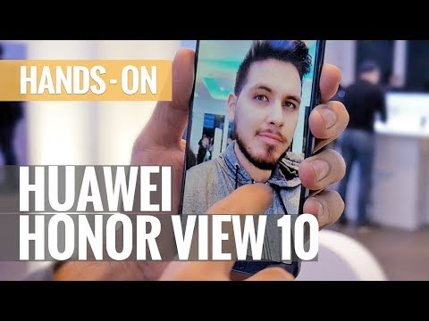 Huawei Honor View 10 - Hands-on review