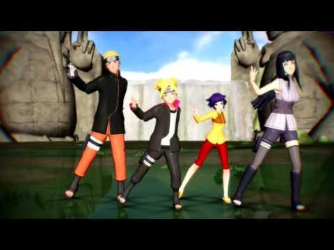[MMD X Naruto] Rude Boy [Uzumaki Family]