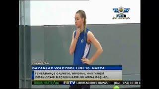 Lucia Bosetti,Katarzyna Skorupa İ.H.İdmanocağı Maçı öncesi Açıklamalar ve Maç Hazırlıkları