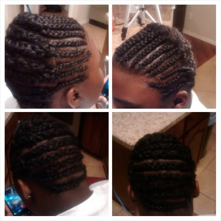 Braid Pattern For Crochet Braids Youtube