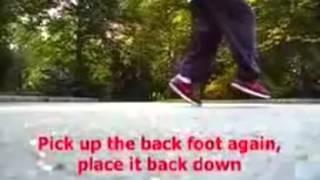 Уроки C-Walk! Элемент Shuffle Stomp
