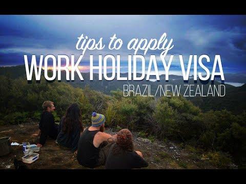 Tips to apply WORK HOLIDAY VISA - Brazil/New Zealand
