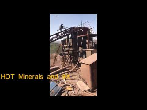 HOT minerals 9X jig process one
