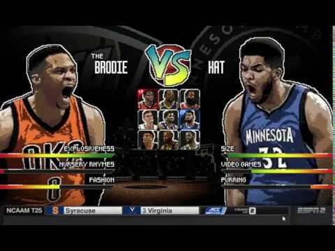 Espn Nba Basketball Battle Commercial Youtube