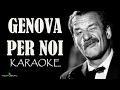GENOVA PER NOI KARAOKE mp3