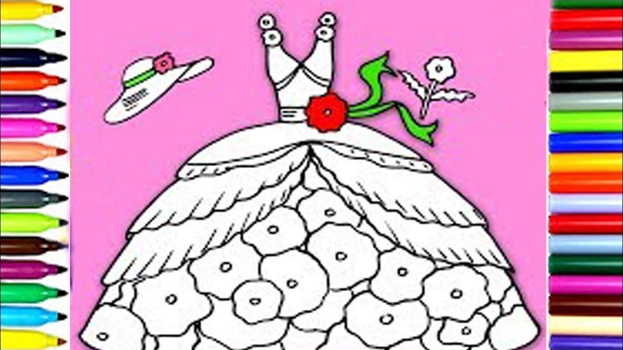 Como Dibujar un Vestido facil y rapido - Dibujos faciles para niños ...