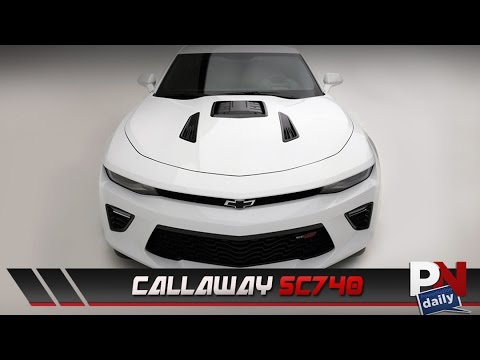Callaway Releases Sc740 Camaro