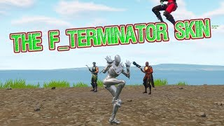 Chrome Oblivion Skin (AKA. The F_Terminator) (Fortnite Battle Royale)