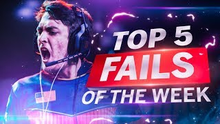 Clayster Misses ALL His Shots vs OpTic Gaming - TOP 5 PRO FAILS #11 - Call of Duty World War 2