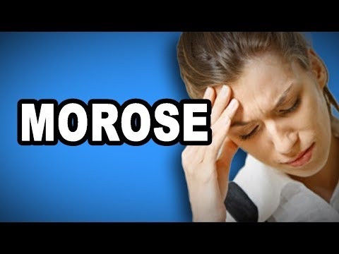 Learn English Words: MOROSE - Meaning, Vocabulary with Pictures and Examples