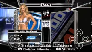 WWE Smackdown vs Raw 2006 ppsspp gameplay part 1