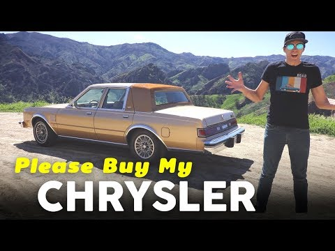 Yes You Should Buy My 1987 Chrysler Fifth Avenue!