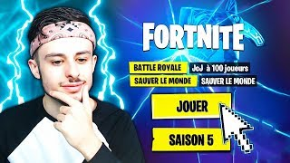 🔴 DEDÉCOUVERTE OF COMBAT SAISON 5 on FORTNITE! FULL SEASON 5! 😱