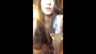 Periscope Malena Morgan Getting sexy dressed to chill with my biffes online video cutter com