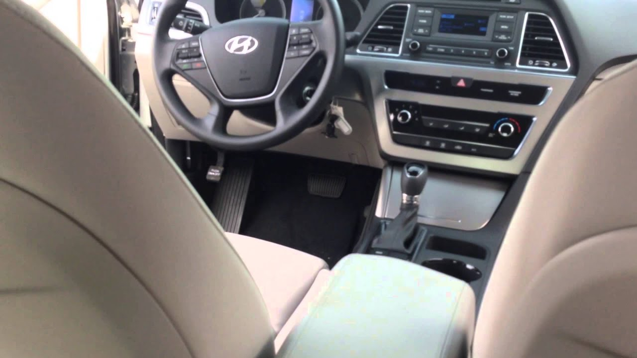 2015 HYUNDAI SONATA SE REVIEW: Interior Space Is EXCELLENT   YouTube Home Design Ideas