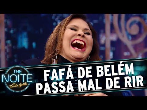 The Noite (14/03/16) - Trinta Segundos  De Risada Da Cantora Fafá De Belém