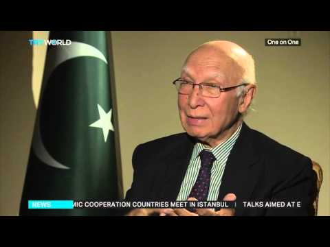 Pakistan's PM Advisor on Foreign Affairs, Sartaj Aziz interview to TRT World