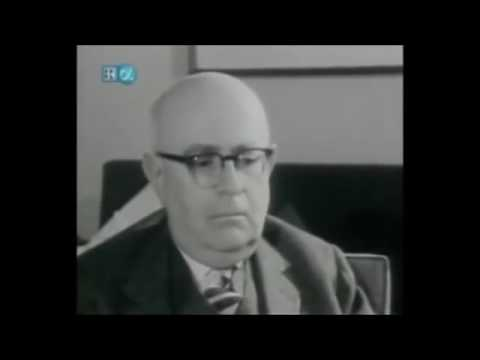 Adorno enjoying a piece of modern popular music