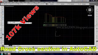 How to draw road existing cross section using Excel and AutoCAD AutoCAD Tutorials