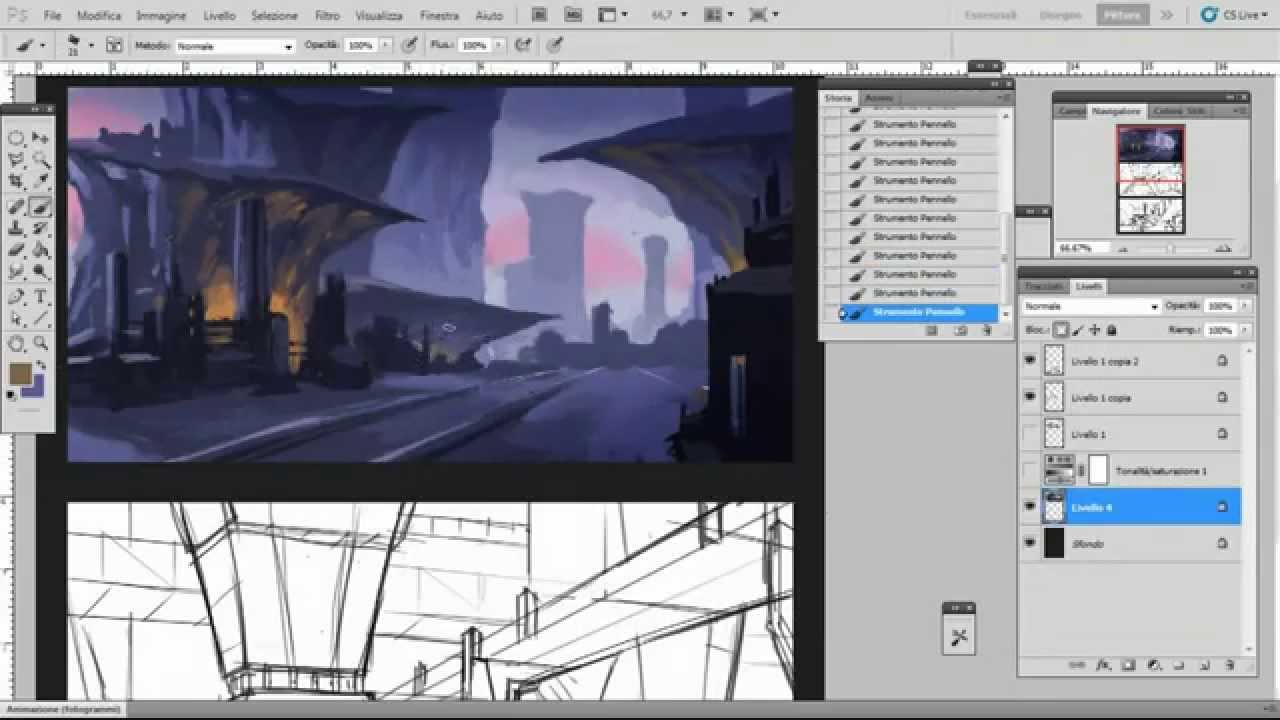 Concept Art 3 Environment Design Sketches Youtube